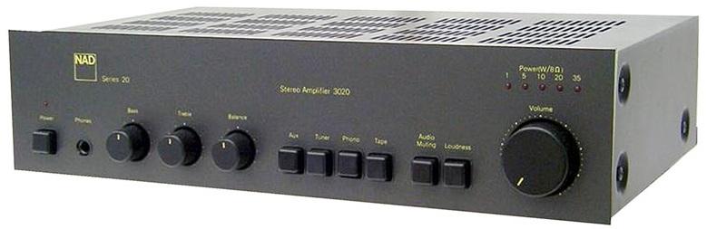 NAD 3020 amplifier