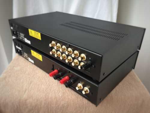 Croft Valve pre 25 power 7 amplifier - rear