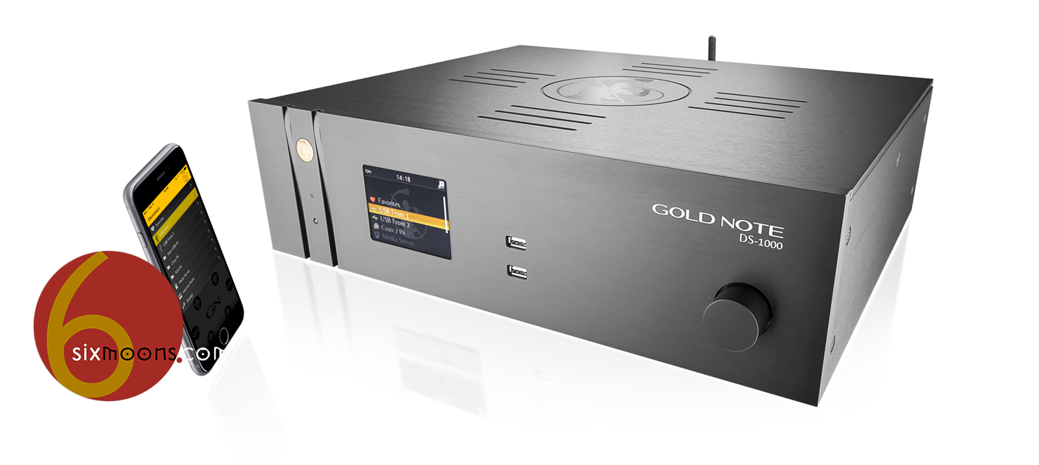 Gold Note DS-1000 Music Streamer is on 6moons – Audioflair
